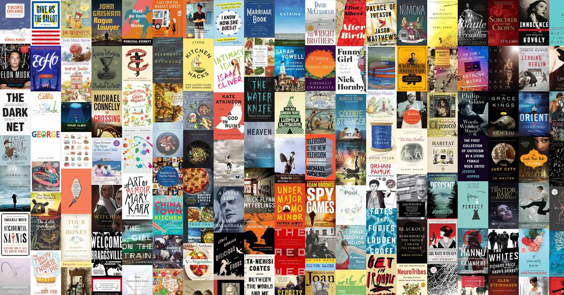 Best Books Of 2015 NPR