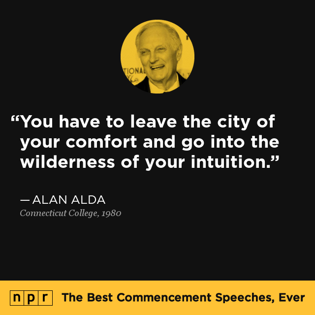 alan aldas graduation speech to his daughter