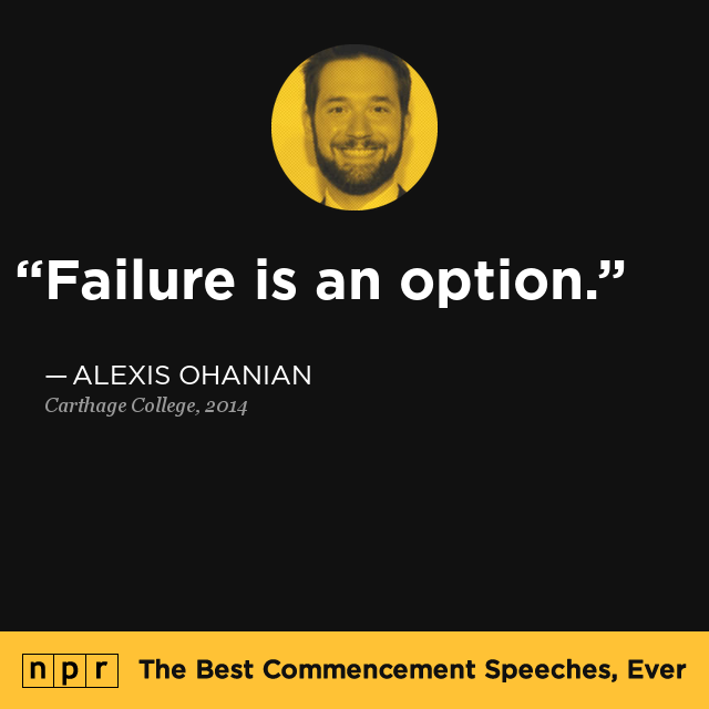 Alexis Ohanian At Carthage College, May 28, 2014 : The
