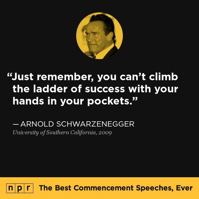 Arnold Schwarzenegger At University Of Southern California