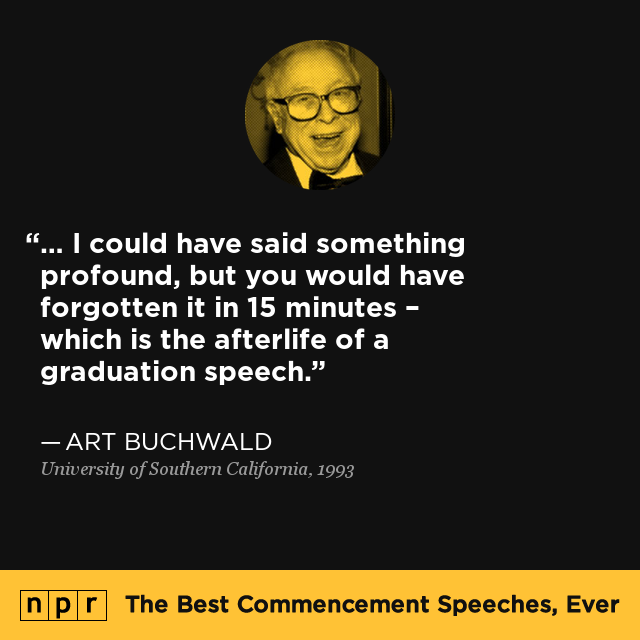 Image result for commencement speeches quotes