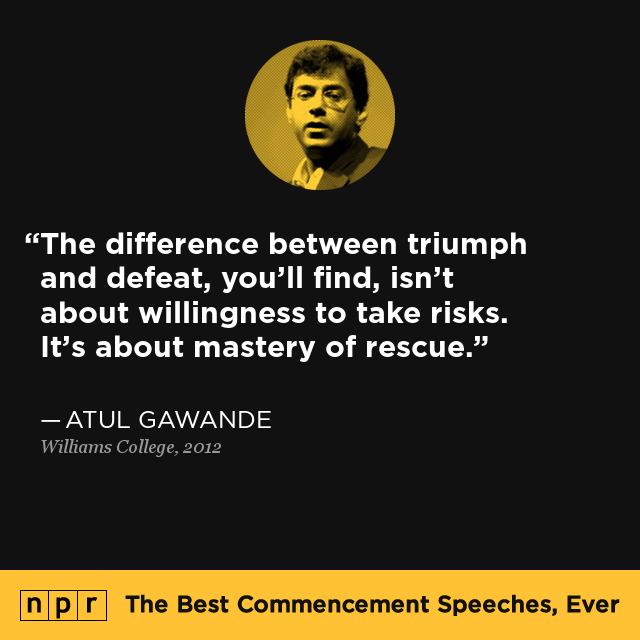 Atul Gawande at Willia... Jim Carrey