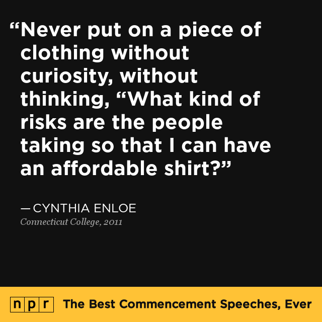 Cynthia Enloe At Connecticut College, 2011 : The Best