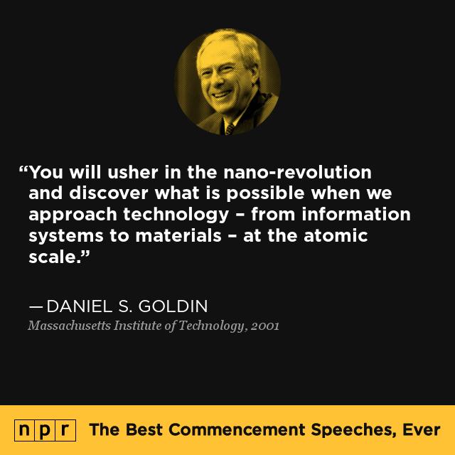 Daniel S. Goldin At Massachusetts Institute Of Technology