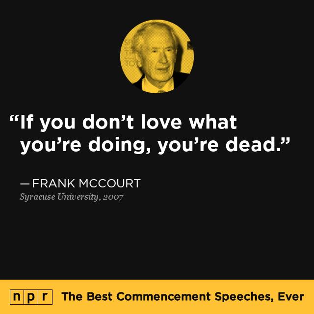 Frank McCourt at Syracuse University, 2007 : The Best ...