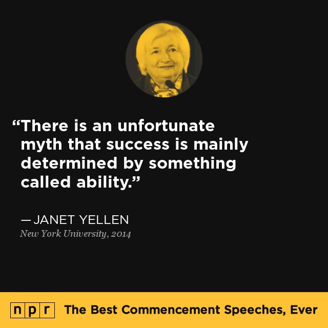 janet yellen at new york university may 21 2014 the best commencement speeches ever npr janet yellen at new york university