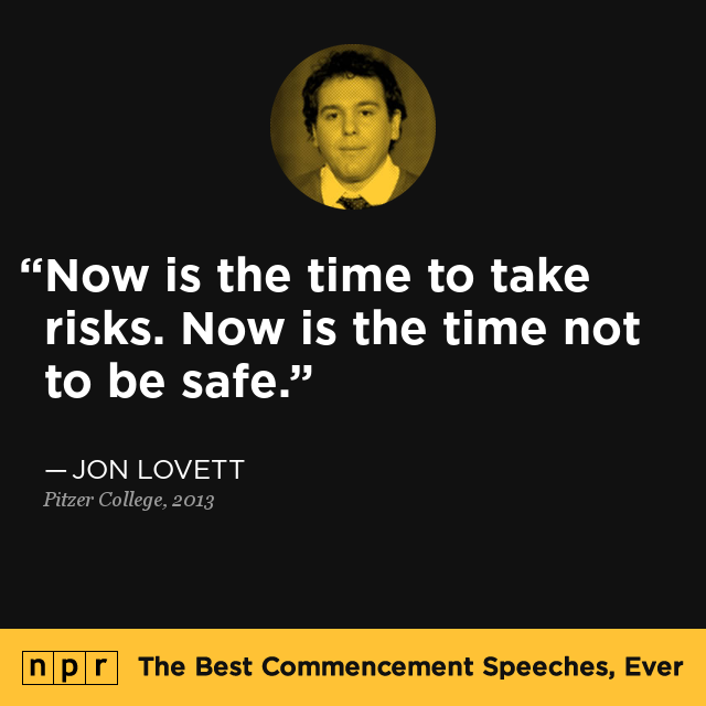 Jon Lovett at Pitzer College, 2013 : The Best Commencement ...