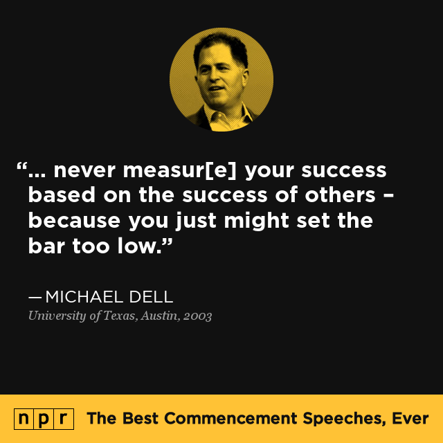 commencement speeches on success