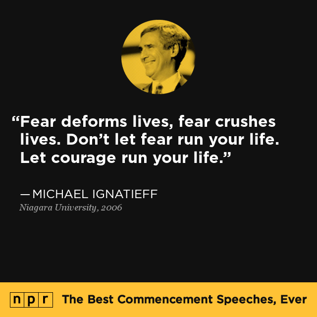 Michael Ignatieff At Niagara University, 2006 : The Best