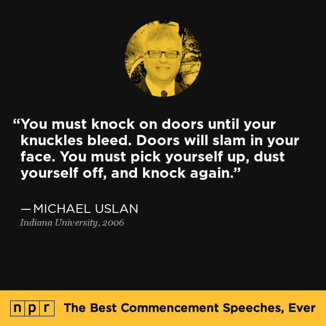 Michael Uslan At Indiana University May 60 600 The Best Awesome Slam Metal Quotes