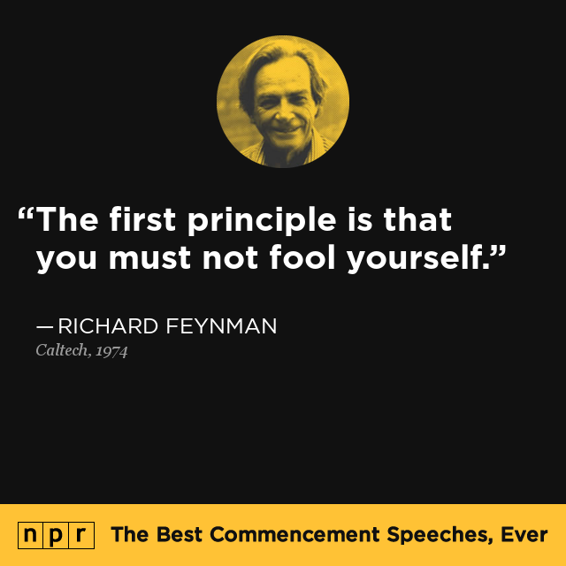 Richard Feynman At Caltech, June 14, 1974 : The Best