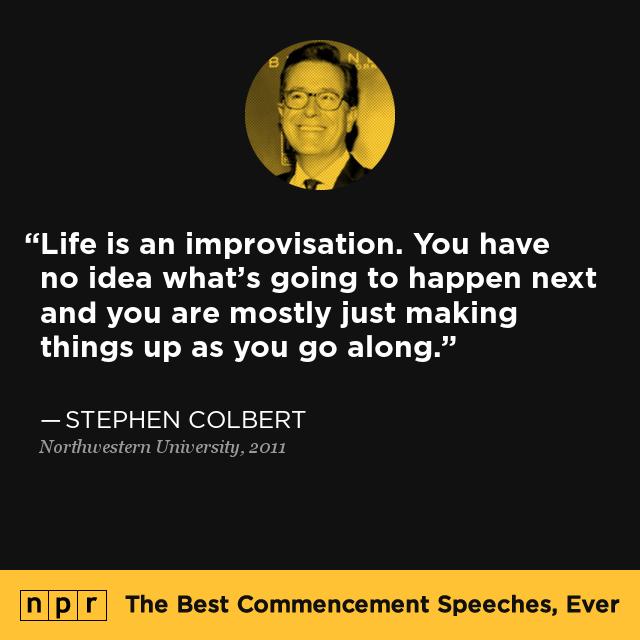 Stephen Colbert At Northwestern University June 17 2011