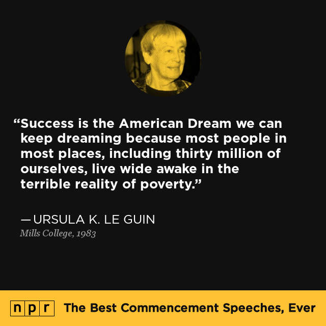 ursula k  le guin at mills college  1983   the best