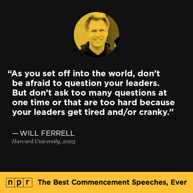 how to start a commencement speech
