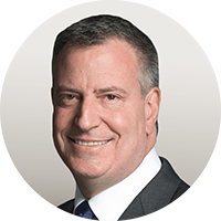 Photo of Bill de Blasio