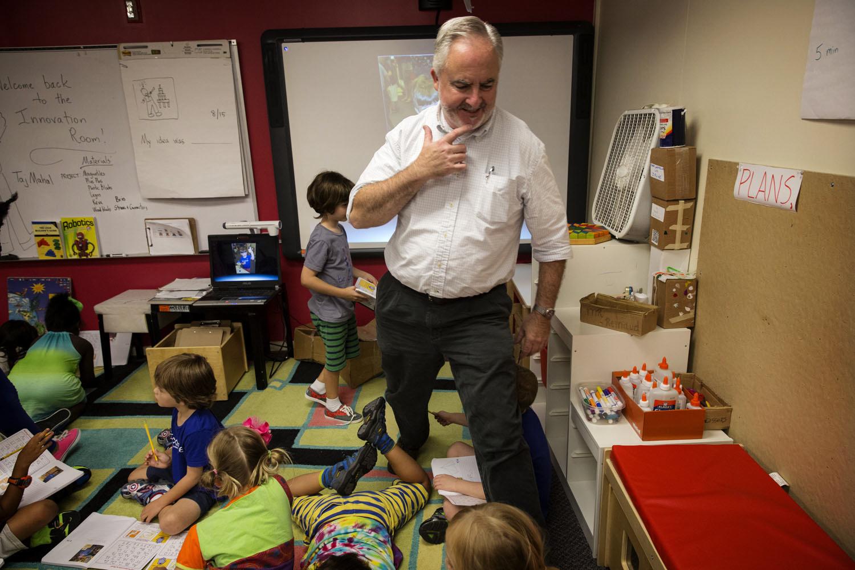 Innovative First Grade Classroom : The end of neighborhood schools npr